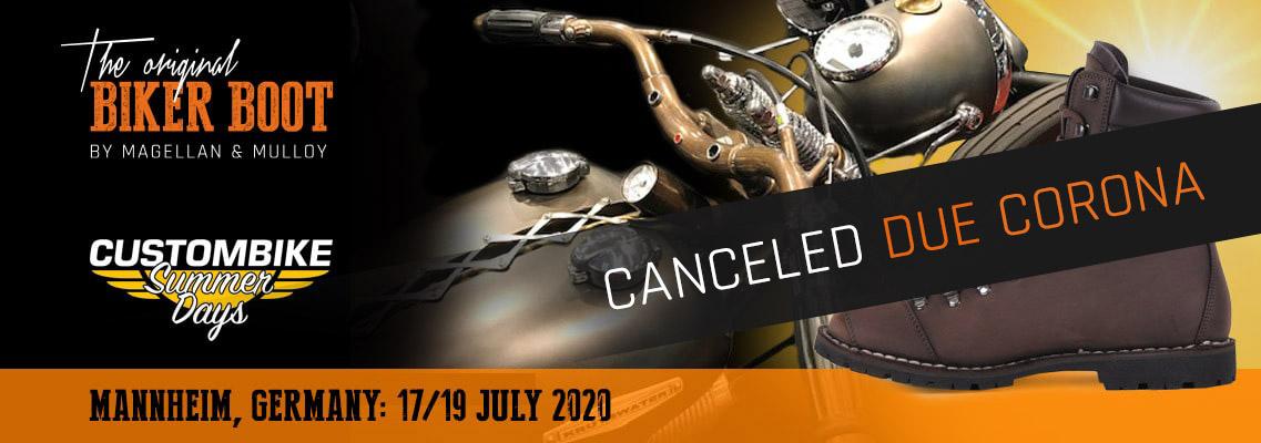 Custombike Summer Days, Mannheim (DE), 17/19 july 2020
