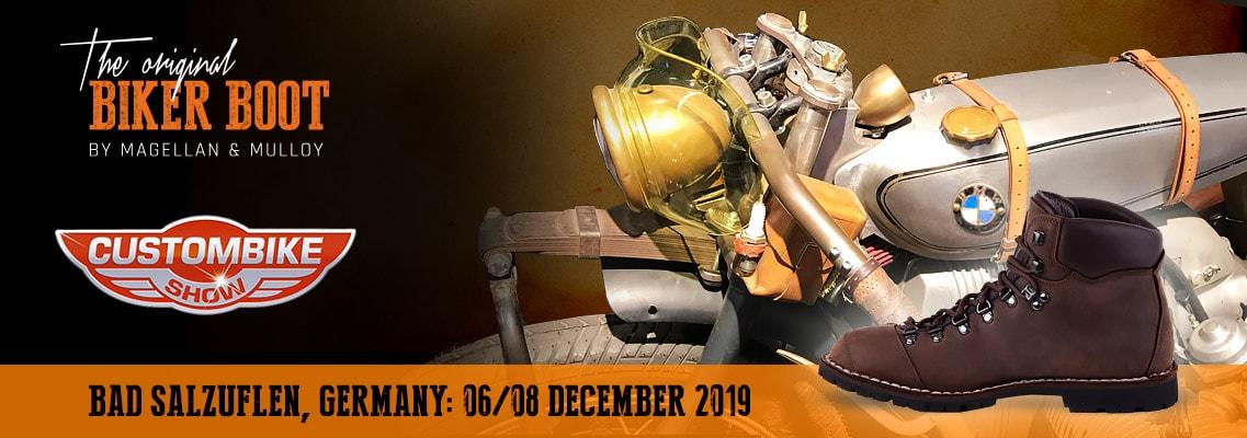 Custombike Show, Bad Salzuflen (DE), 06/08 december 2019