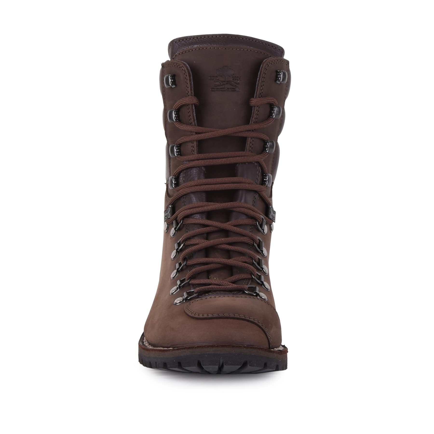 Biker Boot AdventureSE Denver Brown, dark brown gents boot, dark brown stitching