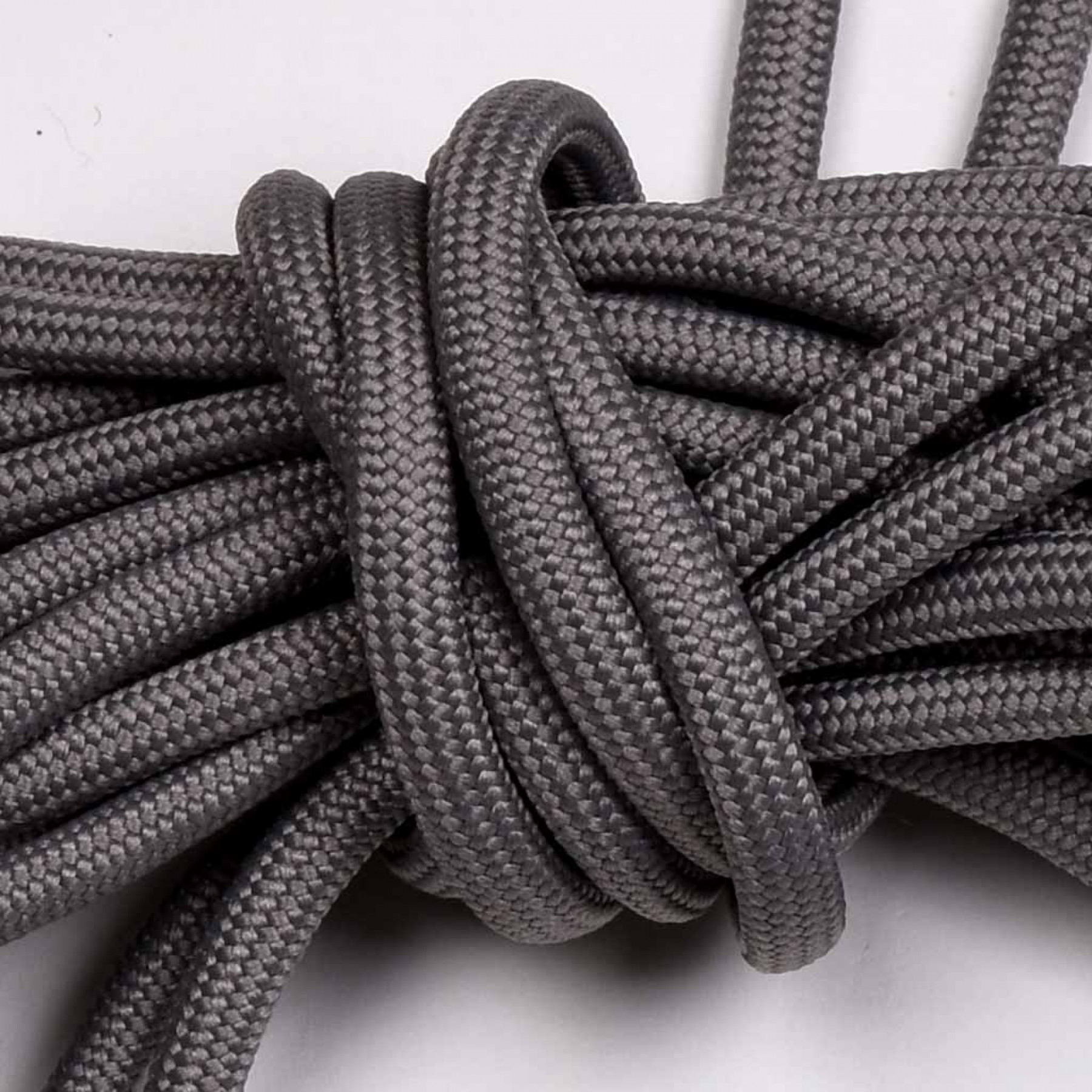 Laces for Biker Boot SE, 230cm long, grey