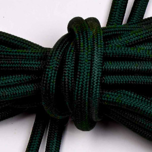 Laces, 165cm long, dark green