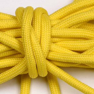 Laces, 165cm long, yellow