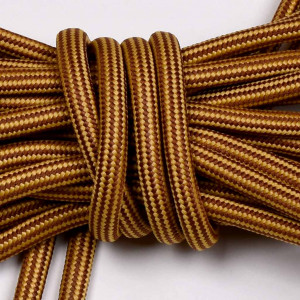 Laces, 165cm long, yellow / mix