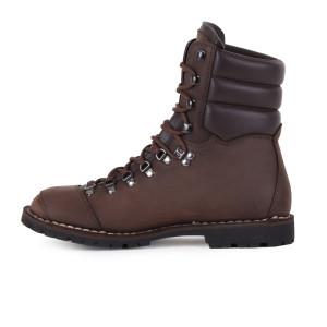 Biker Boot AdventureSE Denver Brown, dark brown gents boot, dark brown stitching