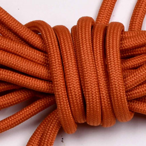 Laces for Biker Boot SE, 230cm long, orange