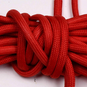 Laces for Biker Boot SE, 230cm long, red