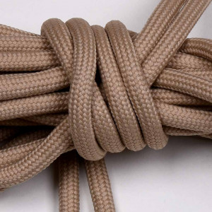 Laces, 165cm long, taupe